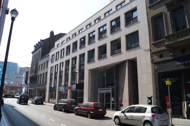 Offices to let near the Brussels central station