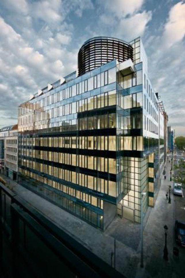 Kantoren te huur aan de Kunstlaan in Brussel