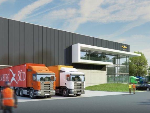 Nikelaan: logistieke bedrijfruimte te huur in Antwerpen