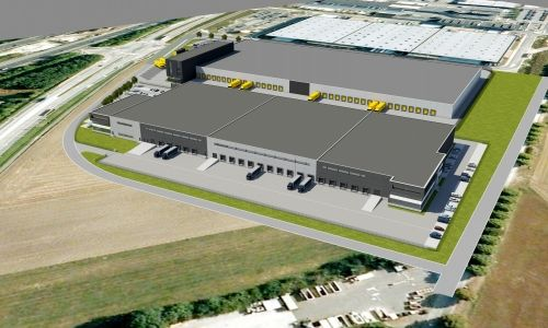 Brussels airport - Distribution center to rent