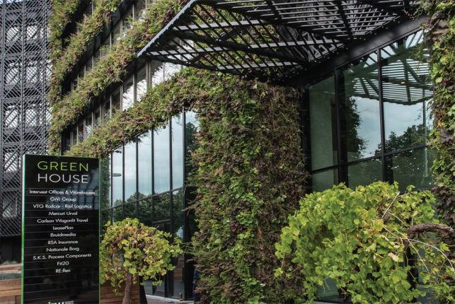 Kantoren te huur in het Greenhouse gebouw in Antwerpen