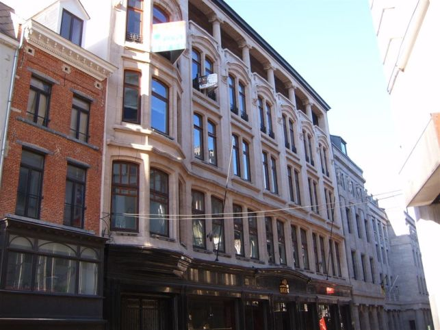 Offices to let near the Brussels central railway station