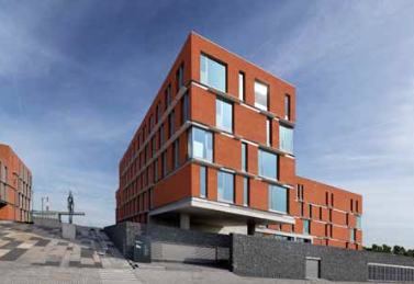 Nieuwbouw kantoren te huur in Kallo Haven van Antwerpen