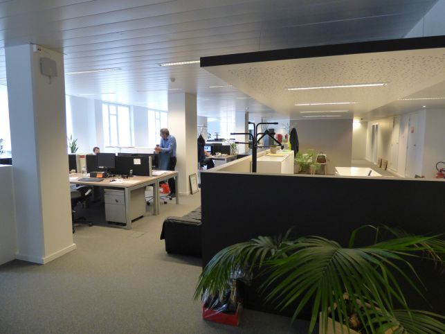 Offices to let near the Brussels-South railway station