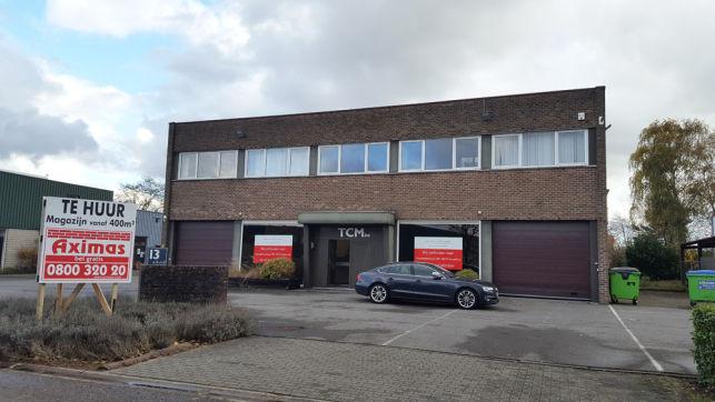 Showroom, magazijn & kantoren te huur in Leuven Haasrode