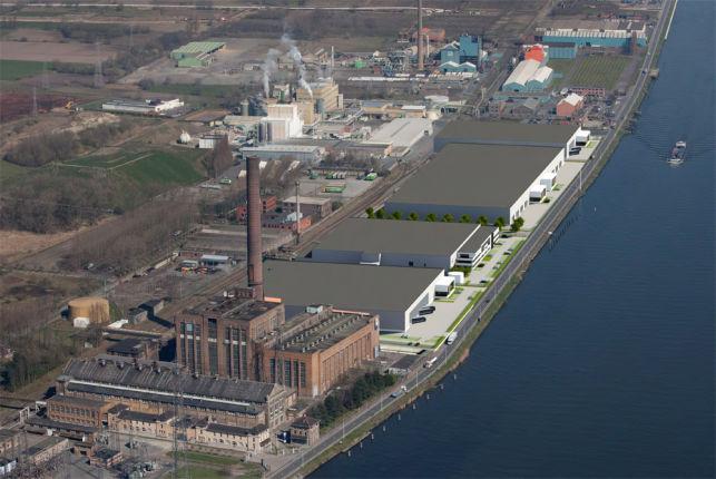 Distributiecentrum te huur in de Haven van Gent