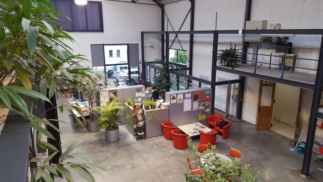 Loftkantoor te huur Gent Sint-Pieters station
