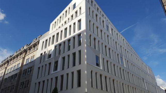 Nieuwbouw kantoren te huur in de Europese wijk in Brussel