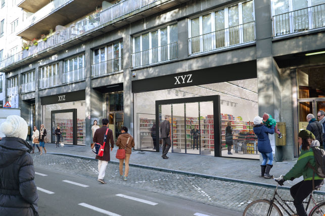 Retail & Shop to let in Brussels Docks district