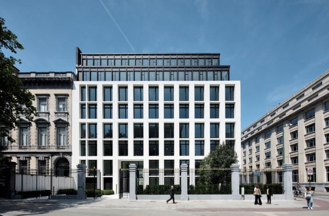 Prime office space for rent in Brussels city-center