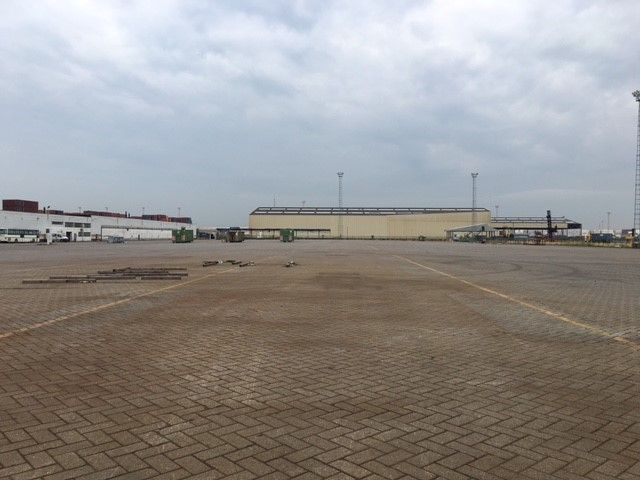 Warehouse & parking to let in the Port of Antwerp