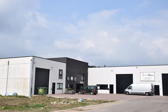 Warehouses for sale at the E314 Leuven-Hasselt