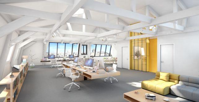 Loft kantoor te huur op de Kouter in Gent