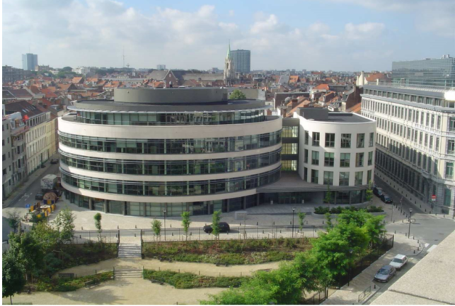 Offices to let in the Brussels European quarter