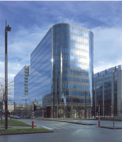 Offices to let in the Brussels North Quarter