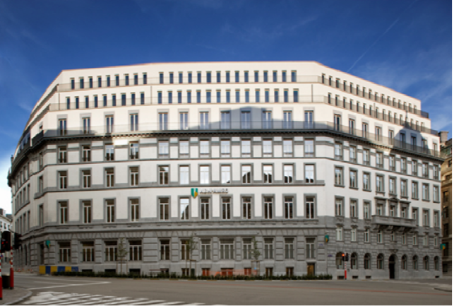 Offices for rent near the Brussels central-station