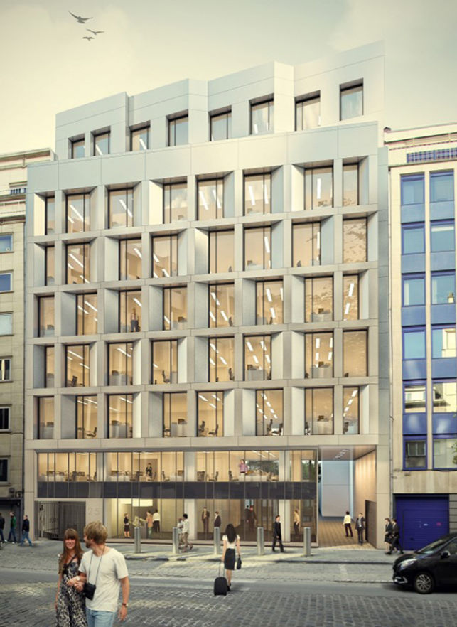 Offices to let in Brussels Leopold Quarter