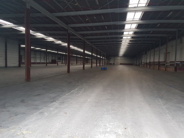 Industrial property with warehouses to let in Ghent