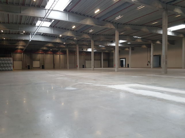 Distribution center for rent in the Port of Ghent
