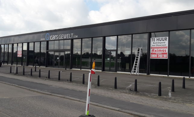 Showroom & warehouse for rent in Leuven near the E40 motorway and Brussels