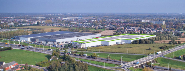 High quality logistics space in Willebroek