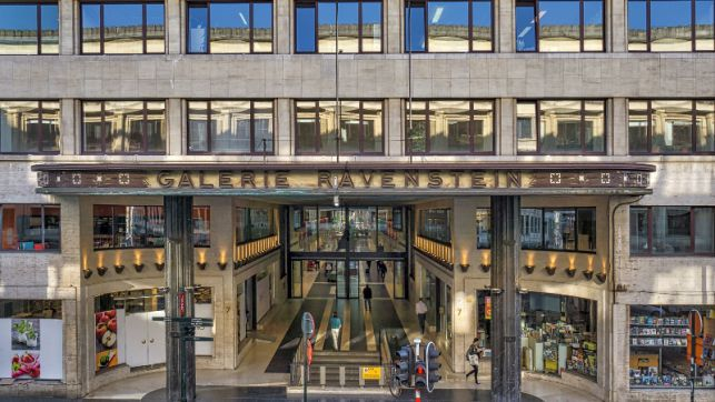 Office space to let at the Brussels Central station