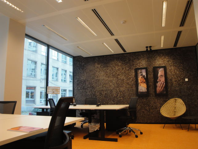 Business Center Marnix - Brussel - Kantoren te huur