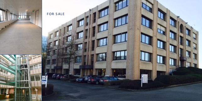 Offices for sale near Brussels airport, potential hotel project