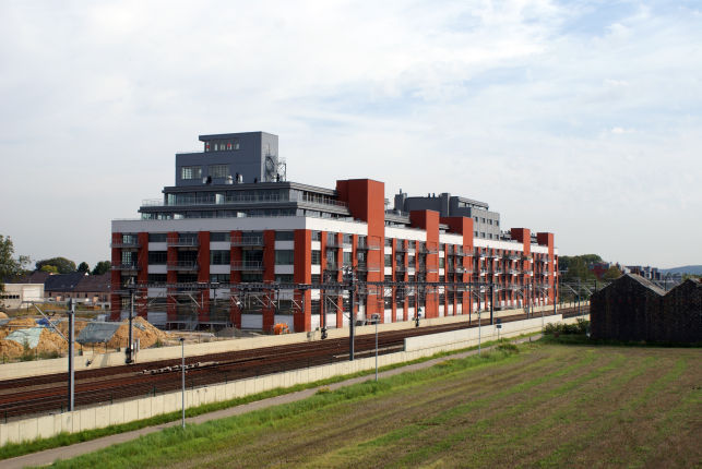 Loft offices for sale at the Herent railway station near Leuven