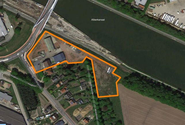 Industrial land for sale near E313 motorway & Albert Canal in Olen