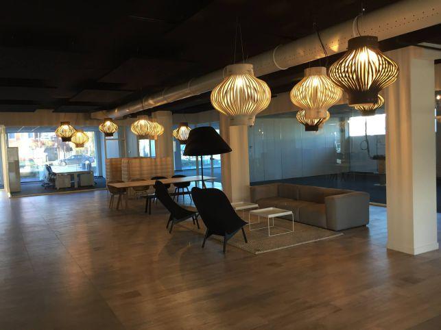 Instapklare kantoren in bedrijvencentrum in Lochristi bij Gent