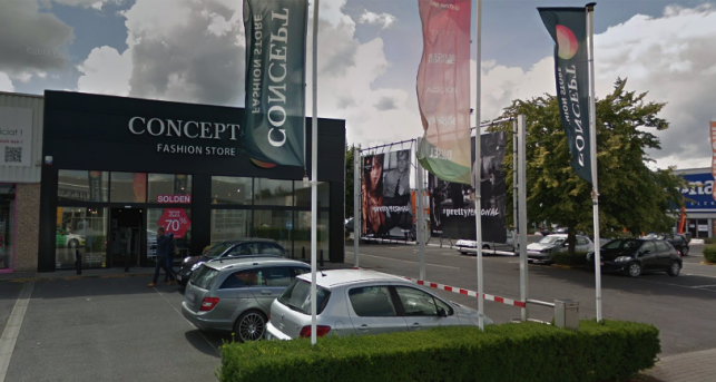Fully-let retail real estate investment for sale in Kuurne