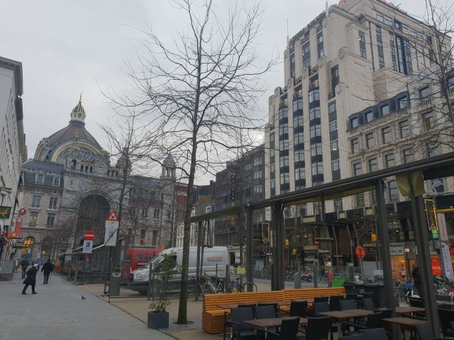 Business Centre to Central station Antwerp