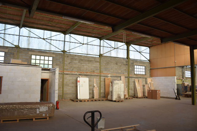 Warehouse for rent in Leuven, close to the city-center