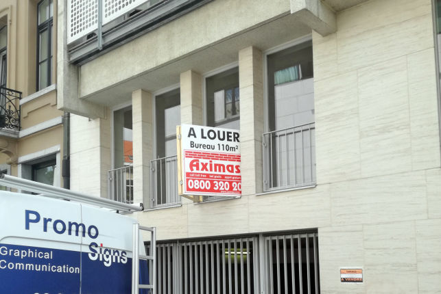 Offices to let near Brussels-Midi and Louise district