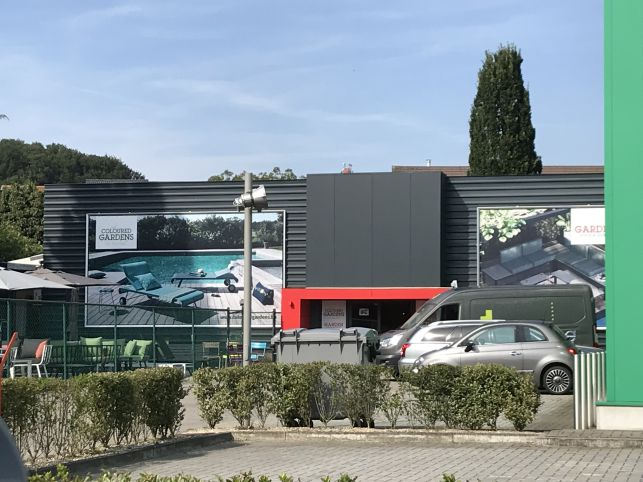 Retail warehouse investment for sale alongside busy Tiensesteenweg near Leuven