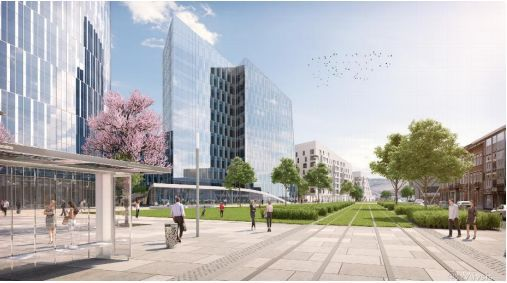 Offices to let in Liege-Guilemins