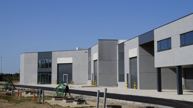 Warehouse units for sale in Tienen near Leuven