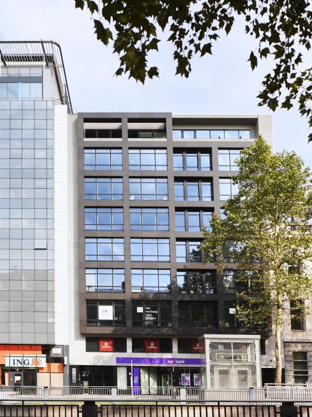 Kantoor huren in de Brusselse Leopoldwijk