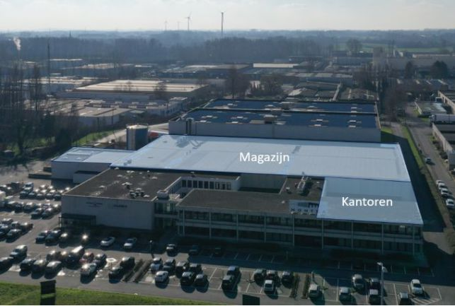 Distribution centre to let E40 Brussels-Aalst-Ghent-Ostend
