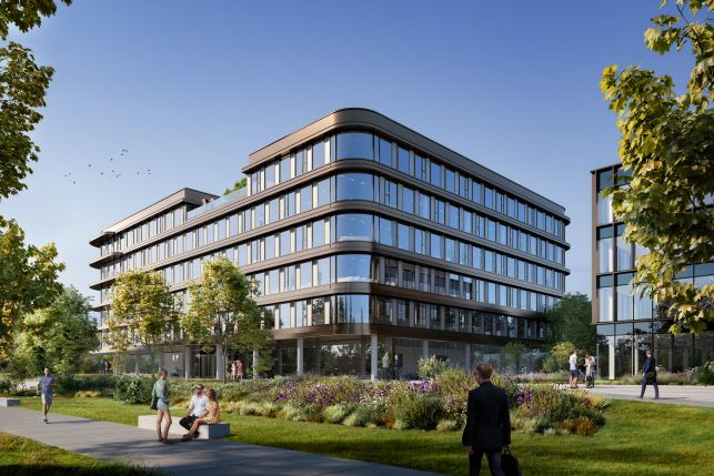 New construction offices to let near the Brussels airport