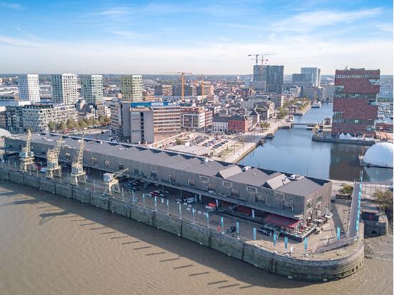 Loft kantoren te huur op het Eilandje in Antwerpen