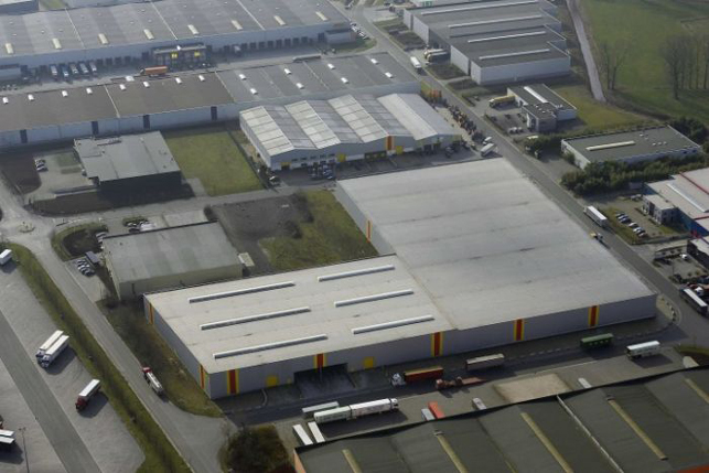 Distribution center to let in Meer E19 Antwerp-Breda