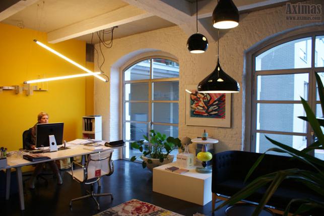Bureaux style loft à louer au Campus Remy Louvain