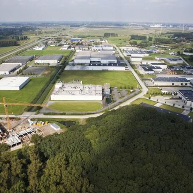 Industrial plots for sale in the Port of Ghent