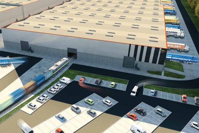 Haven van Gent: logistiek distributiecentrum te huur