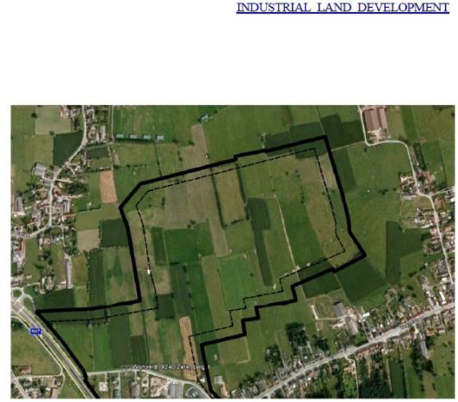 Bedrijvenpark Zele: industrial land for sale near Ghent