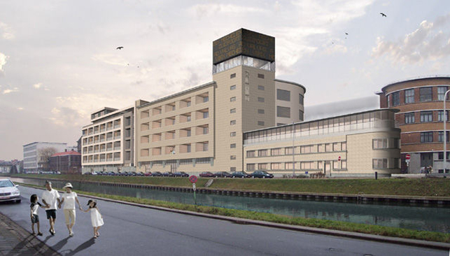 Zuidpoort Mechelen: kantoren te huur